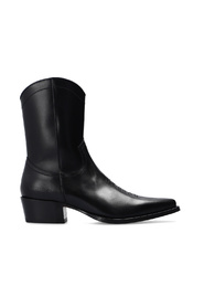 Wanderer leather ankle boots
