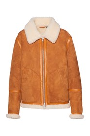 The Shearling Jacket Skinnjakke