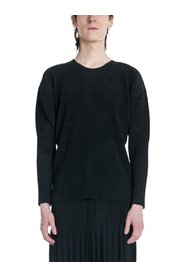Pleated Long Sleeve Shirt