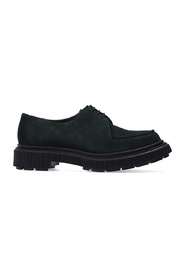 Type 124 suede shoes