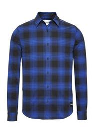Buffalo Check Slim Fit Overshirt