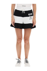Shorts with logo print
