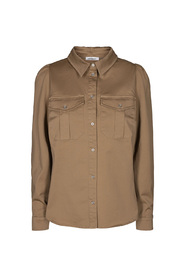 Beige Co`Couture Lison Shirt Skjorte
