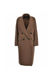 Ordine Double-Breasted Cashmere Coat