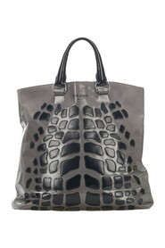 Pre-owned Tote Bag Leather Calf