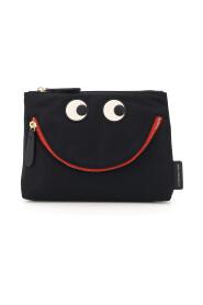 happy eyes nylon pouch