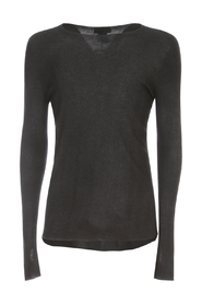 REVERSIBLE ROUND NECK PULLOVER