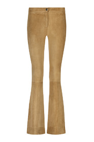 LIVELY STRETCH SUEDE PANTS