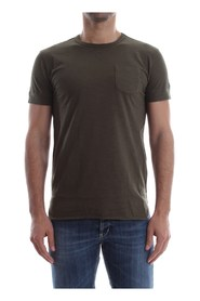 WOOLRICH PENN-RICH WYTEE0421 FLAME POCKET TEE T SHIRT AND TANK Men GREEN