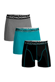 SOLID1010-344 3-Pack Multi BOXERSHORTS