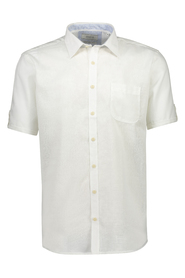 Solid structure shirt S/S
