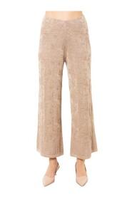 Pantalone corto con fiore