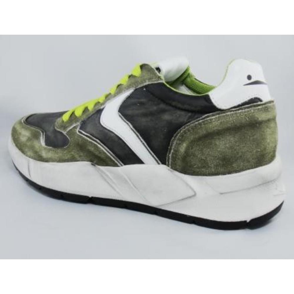 VELOR SNEAKERS AND RUBBER WEDGE CANVAS