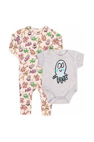 Romper suit and body set
