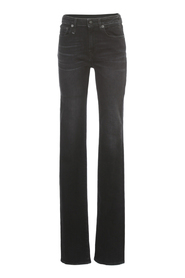ALISON SLIM JEANS W/ZIP ON BACK