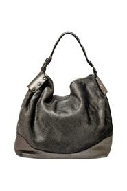 Pre-owned Silver Leather Large Hobo