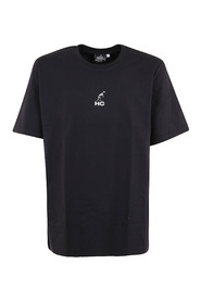 JERSEY T-SHIRT WITH PRIMITIVE PRINT BEHIND