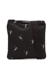 Skull Dancing Skeleton Crossbody Bag Fabric Nylon
