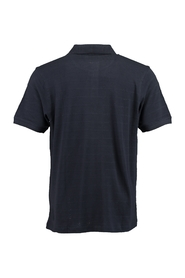 Luxury solid col polo