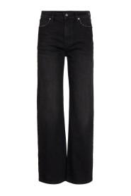 Mia Hw Straight Jeans Wash New York Bukse