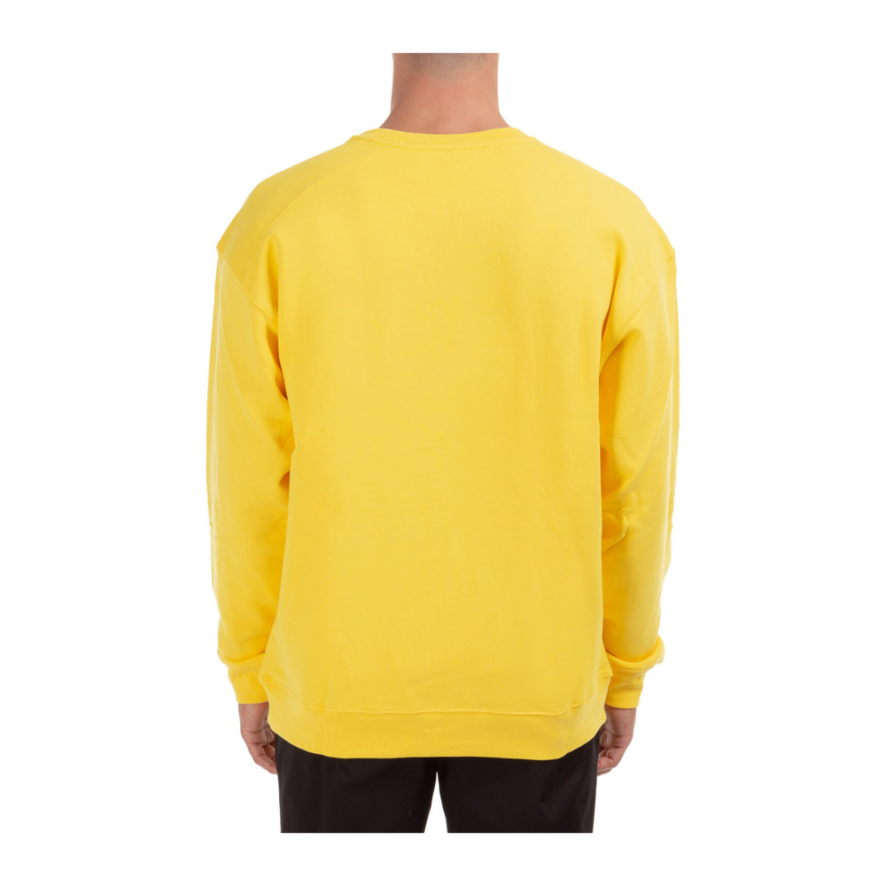 Yellow Heren sweatshirt sweat | Moschino | Hoodies  sweatvesten | Heren winter kleren