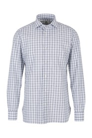 Shirt with a checkered pattern