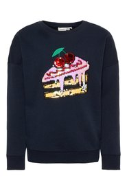 Sweatshirt sequin embellished