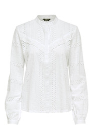 ONLMIRIAM LS EMB ANGLAISE BLOUSE DN: