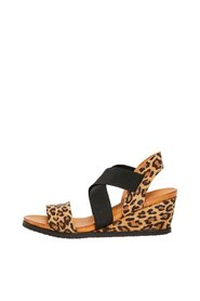Leather Sandals Wedge
