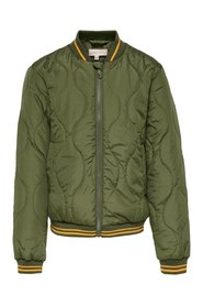 Quilted jacket bomber