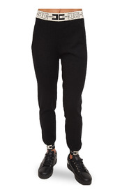 Jogging trousers with high waistband
