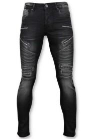 Biker Jeans Zip