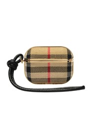 Vintage Check Cotton and Lambskin AirPods Pro Case