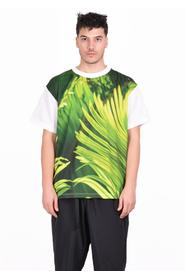 LEAVES PRINT T-SHIRT FU3-CU-15