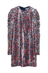 Oroya Sequin Dress - Ultramarine