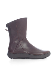 ANKLE BOOTS W/ZIP ON BACK