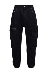 Trousers with multiple pockets