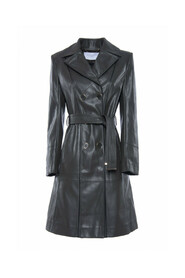 LONG TRENCH LEATHER 30BB-VAL