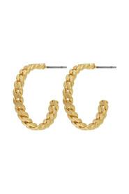 Earrings Infinity Simple Hoop