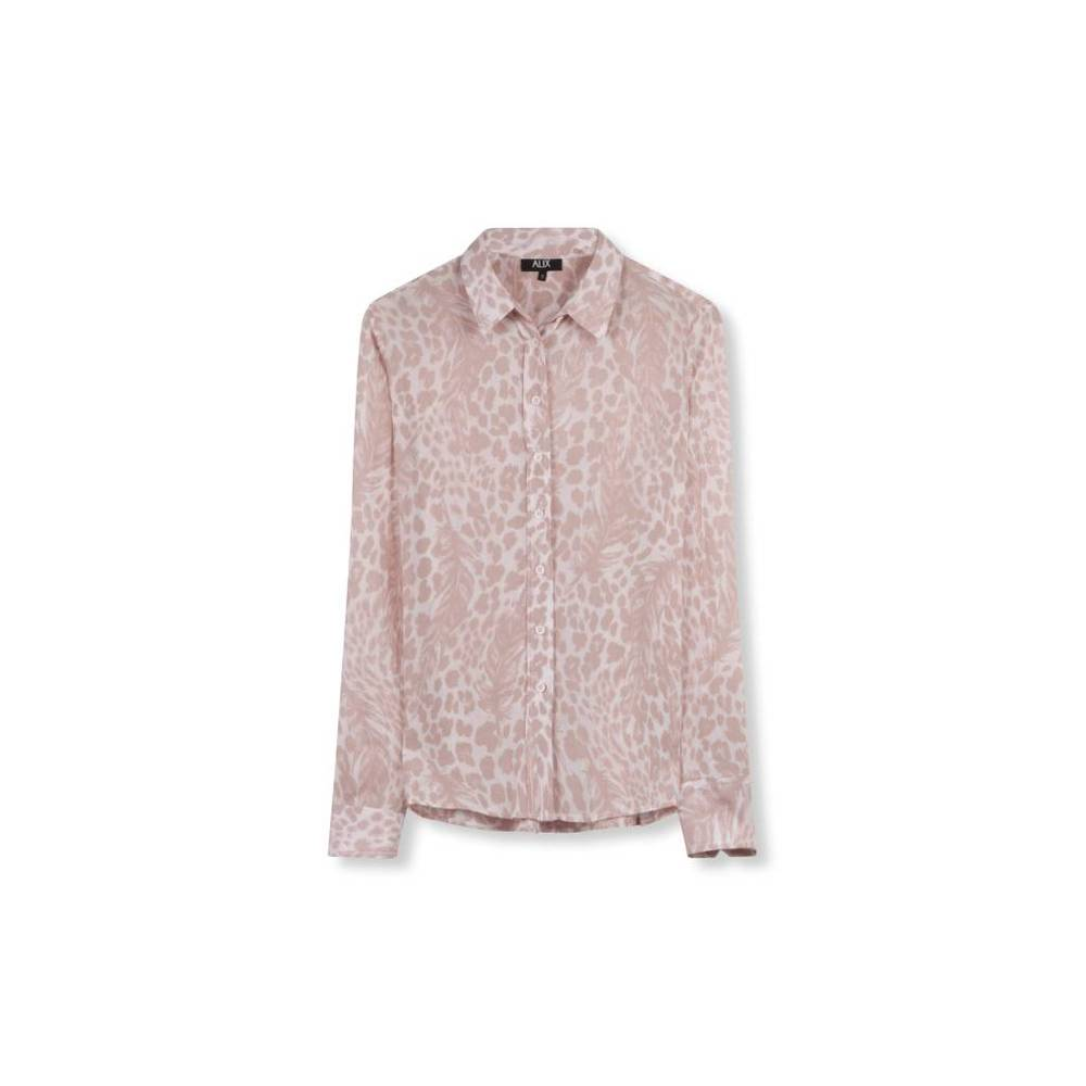 feather animal blouse