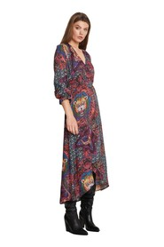 woven ethnic long dress