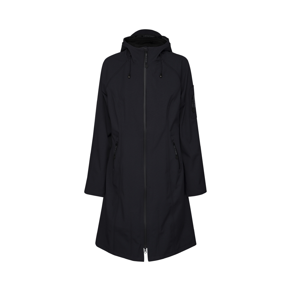 LONG SOFT SHELL RAIN COAT
