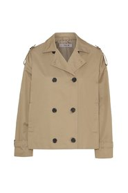 Olea short trench coat AV1720