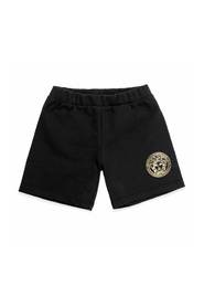 Shorts in tessuto