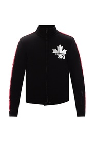 Jacket with logo