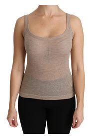 Tank Sleeveless Cashmere Top