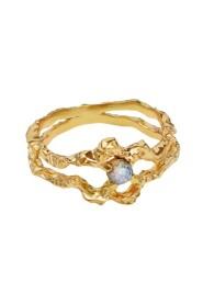 Gull Shelly Ring Smykker