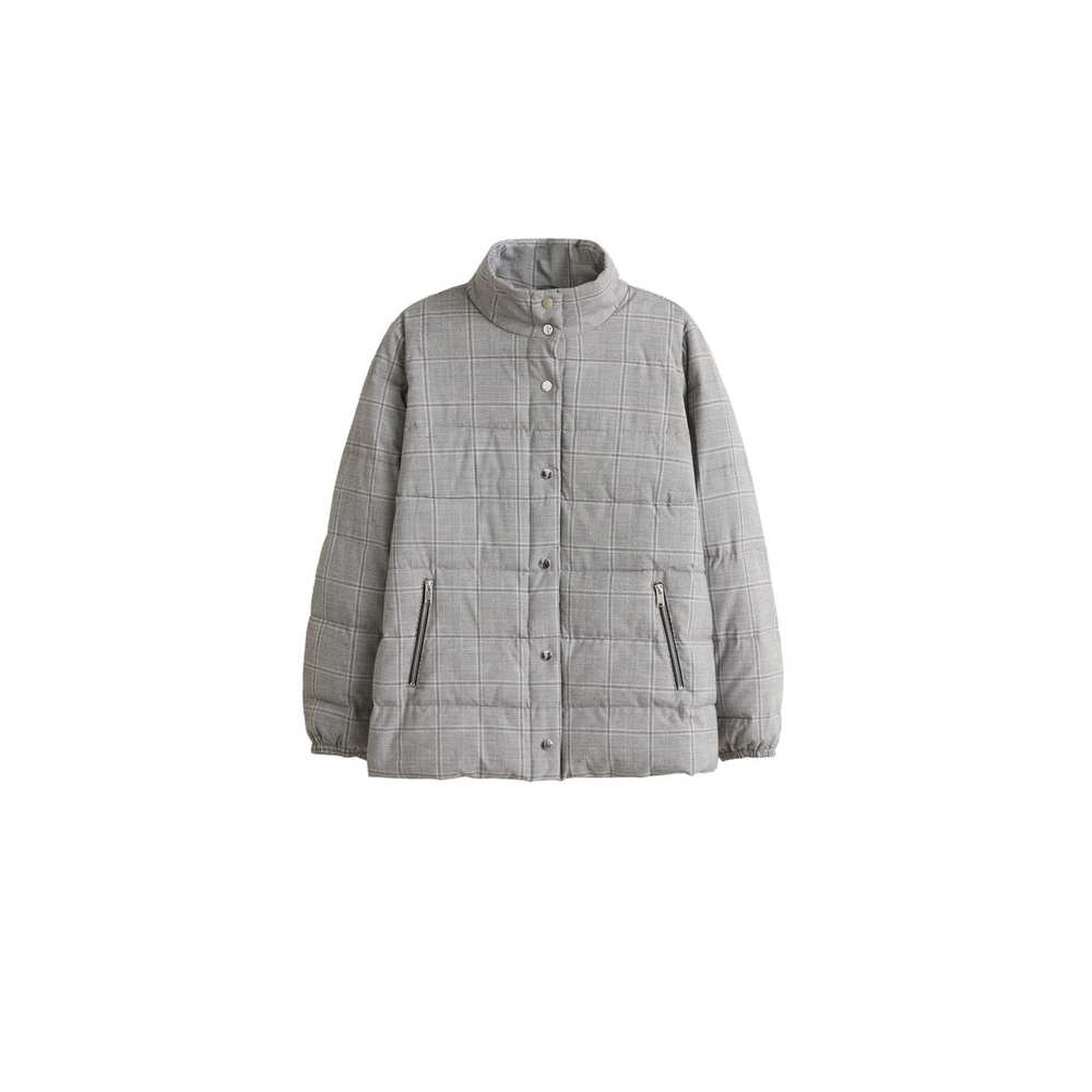 Prince of Wales-mönstrad anorak