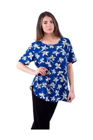 T-Shirt With Floral Fantasy