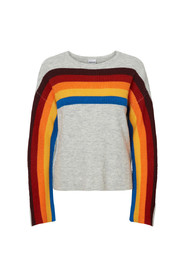 RAINBOW O-NECK KNIT 5
